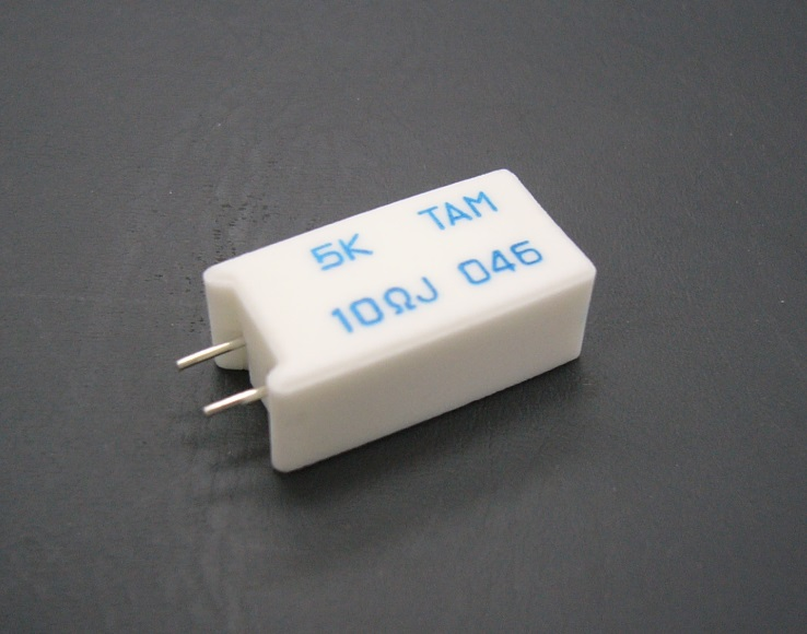 Thermal-Links Cement Resistor