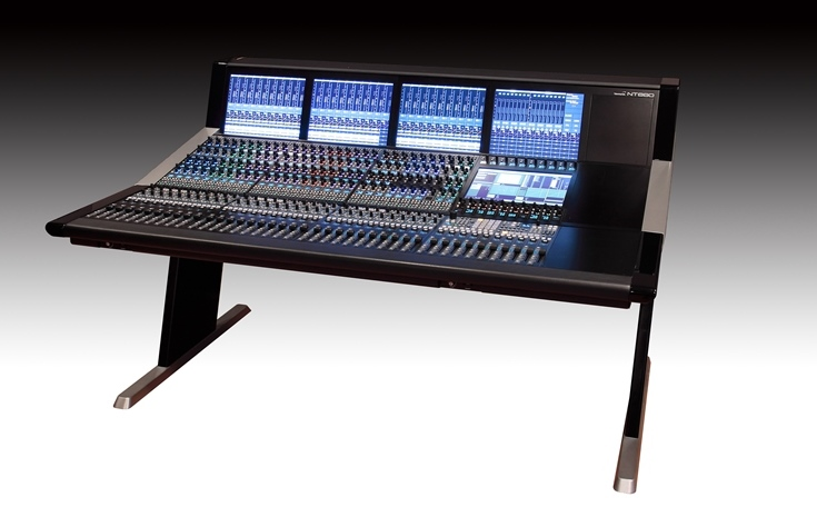NT880 DIGITAL AUDIO MIXING CONSOLE