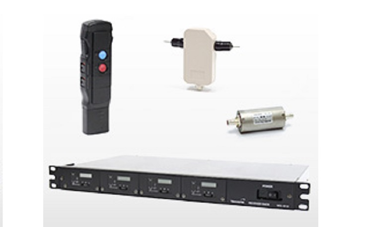 Wireless microphone system for railways type B