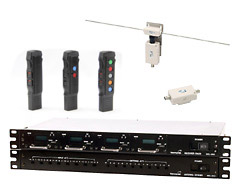 Wireless microphone system for railways type C