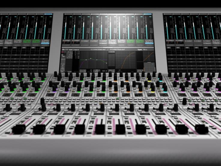 NT660 DIGITAL AUDIO MIXING CONSOLE 柔軟な操作性
